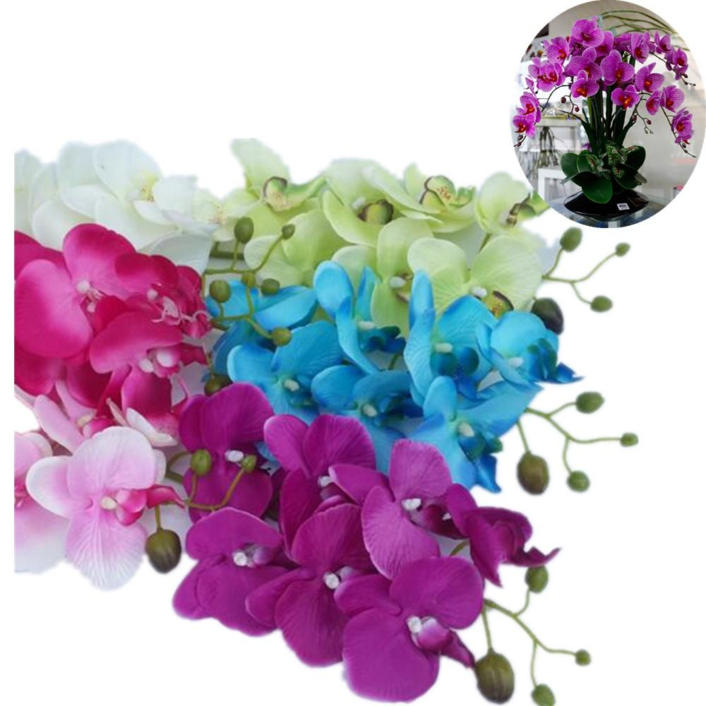 2018 Wholesale Silk Flower Artificial Moth Orchid Butterfly Orchid 1