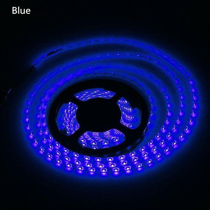 100 mètres led bande lumineuse led ruban 3528 SMD 5M rouge bleu vert étanche 300LED flexible avec connecteur 12V 2A adaptateur secteur par DHL