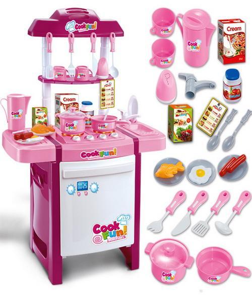 Großhandel Spielzeug Küche Kinder Simulation Spiel Haus Utensilien ...