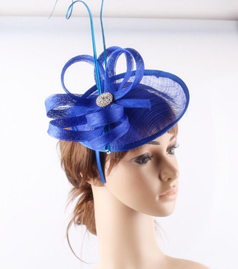 7ddbb6ada9cb6 2019 High Quality Available Sinamay Material Fascinator Headwear Wedding  Hat Church Millynery FNR160304 From Yullyzhang