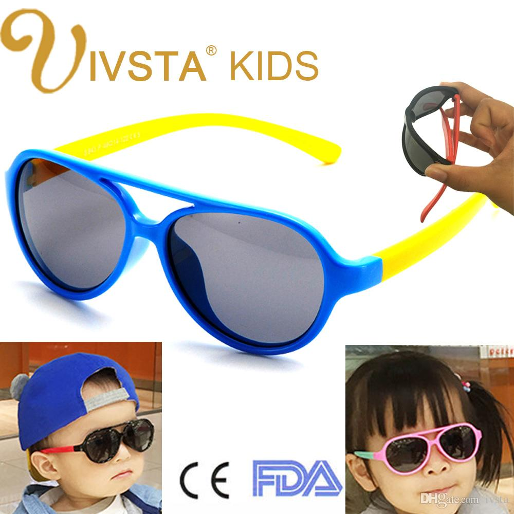 953189d2ce IVSTA 843 Boys Sunglasses Kids Glasses Children Sunglasses Girls Pink Eyeglasses  Eyewear TR90 Soft Flexible CE Custom Logo OEM FDA Polarized Sunglasses Kids  ...