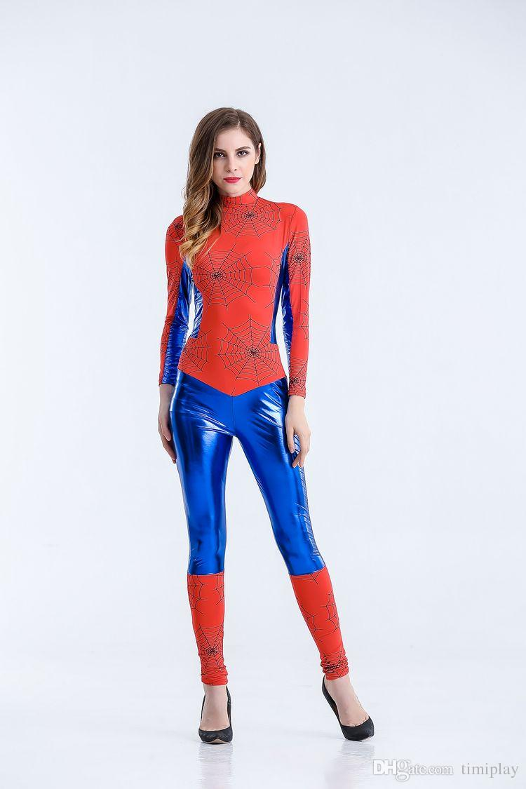 Halloween costume The superman heroes clothing superman costume Jumpsuit COS party stage