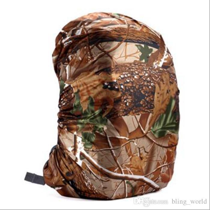 Funda impermeable para la lluvia para mochila de camuflaje Bolsa de equipaje Cubiertas de la lluvia de polvo para viajar Camping Senderismo Ciclismo al aire libre es YW150
