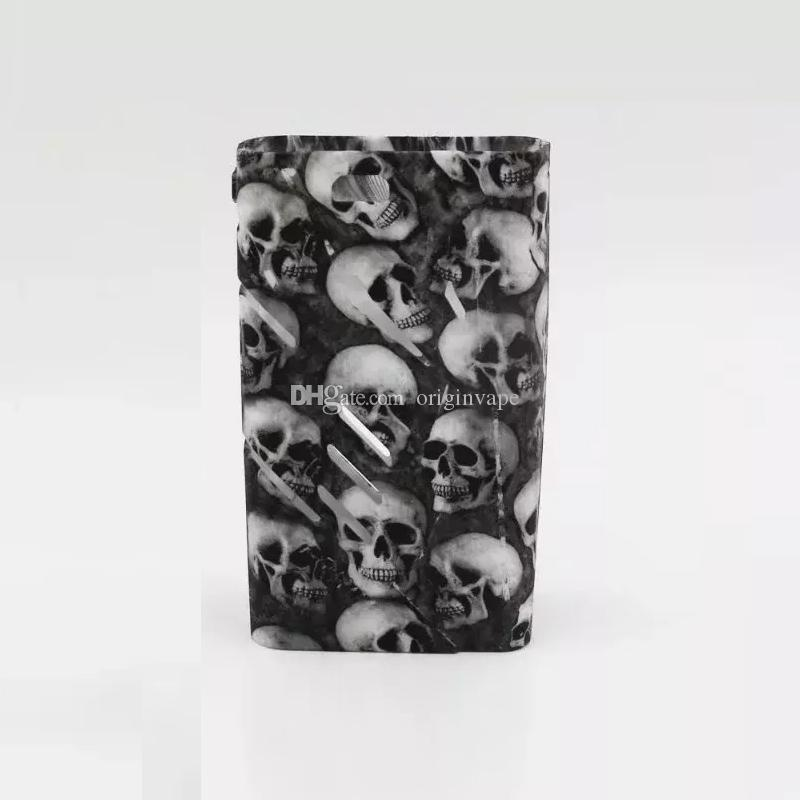 Newest Skull Silicon Case Skin Cases Skull Soft Silicone Sleeve Cover Skin For Smoking Box Mod