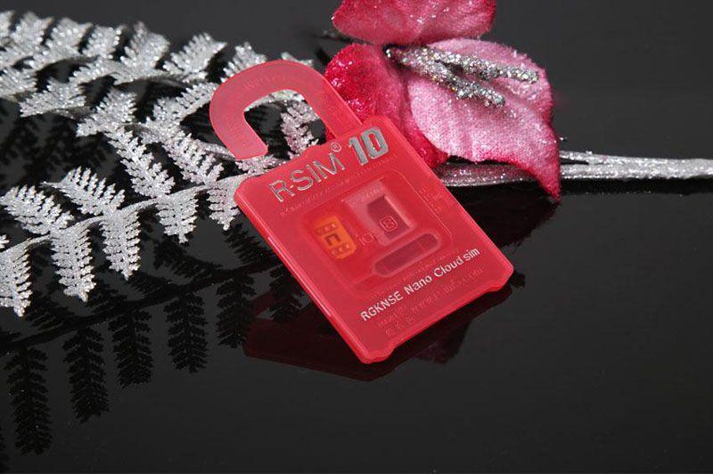 R-SIM 10 R SIM 10 RSIM 10 r sim10 Desbloquear cartão de desbloqueio para o iphone 6 plus iphone 6 5s 5 4 s IOS8. X ATT T-mobile Sprint WCDMA GSM CDMA navio livre