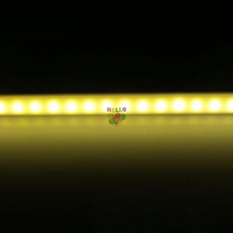 50cm 100cm DC12V LED Bar Luminosité élevée 5630 Avec la couverture de PC Lumière de LED Bande dure Cabinet Lumière Mur Lampe