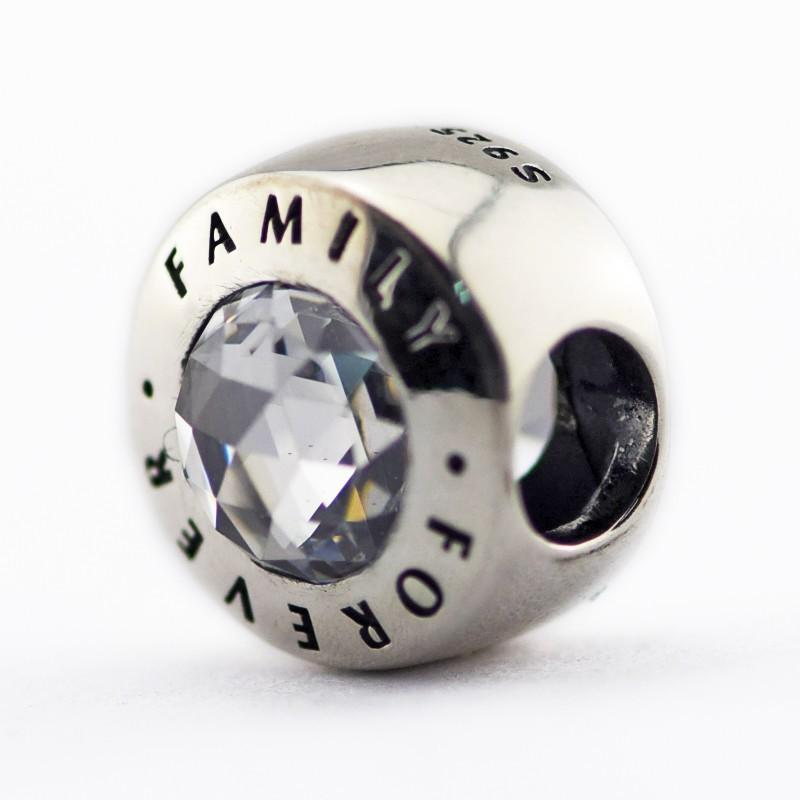 529b1d340 Cheap Family Forever Charm Beads Fits Pandora Charms Bracelets European  Beads For Jewelry Making Authentic 925