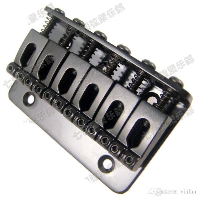 Top qualità nero chitarra elettrica ponte all'ingrosso parti di chitarra accessori strumenti musicali