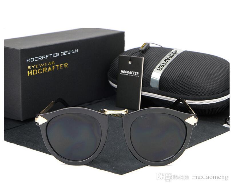 Ретро стиль Hdcrafter бренд солнцезащитные очки для женщин мода личность дизайнер driveing HD Super light Туризм и отдых солнцезащитные очки