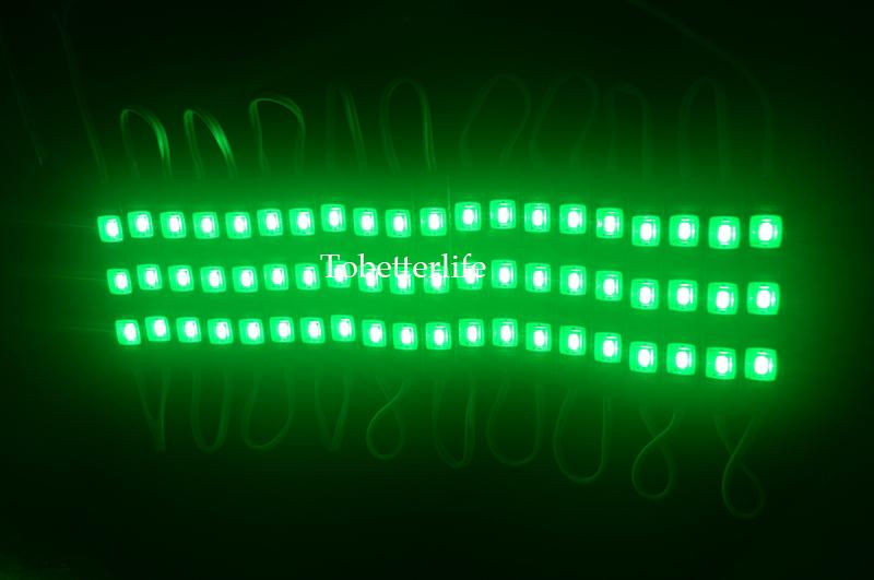 Ücretsiz kargo LED modülü ışık lamba SMD 5730 IP65 su geçirmez LED modülleri işareti mektuplar için arka ışık 3 led DC 12 V
