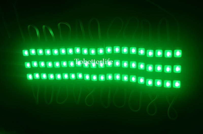 LED-Modul Licht wasserdicht super hell SMD 5630 LED-Lichtmodul Weiß Rot Gelb Blau Grün HINTERGRUNDBELEUCHTUNG 1.2W 150lm DC12V