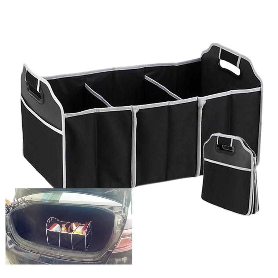 2016 novo Carro Organizador de Boot Stuff Sacos De Armazenamento De Alimentos tronco organizador Automóvel Estocagem Tidying Acessórios Interiores Dobrável Dobrável