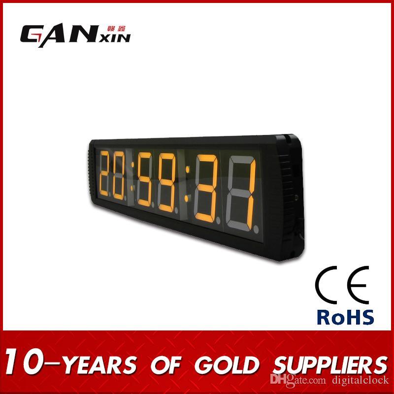 [Ganxin] Personalizd Grande Barato 4 inch Display Temporizador Contagem Regressiva LED Verde / Up Dias Temporizador Decoração Interior Relógio Digital de Parede 24 horas