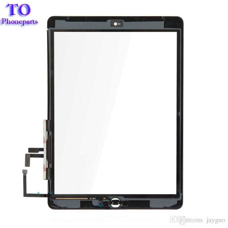 For iPad 5th ipad Air A1822 A1823 Touch Screen Digitizer Front Glass Lens Replacement DHL Free