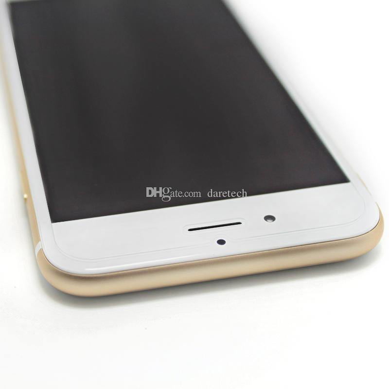 Protector de pantalla de vidrio templado para iPhone 12 11 Pro X / XS MAX XR 8 7 6S PLUSE 10 IN 1 PAPEL PAQUETE