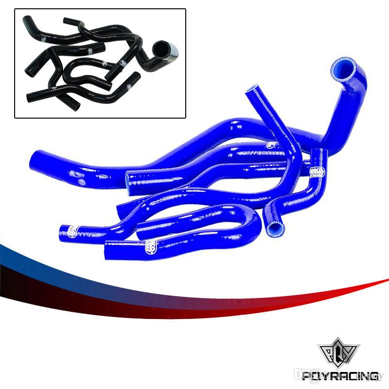 2019 PQY STORE Silicone Radiator Hose Kit For CIVIC D15