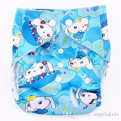 Cloth Diapers Reusable Washable Pocket Baby Cloth Diaper Happy Happyflute Flute Time Printing Baby Wash Cloth Diapers Breathe Freely C