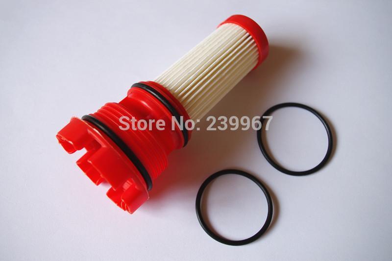 2 X Kraftstofffilter passend für Mercury Verado Optimax Motoren 75HP -250HP Marine Außenbord 2 Mikron Teile