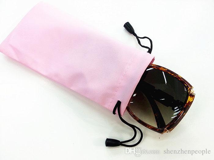 Borsa occhiali da sole in plastica impermeabile in pelle da 1000 pezzi custodia occhiali morbida custodia occhiali borsa elettrica telefono cellulare