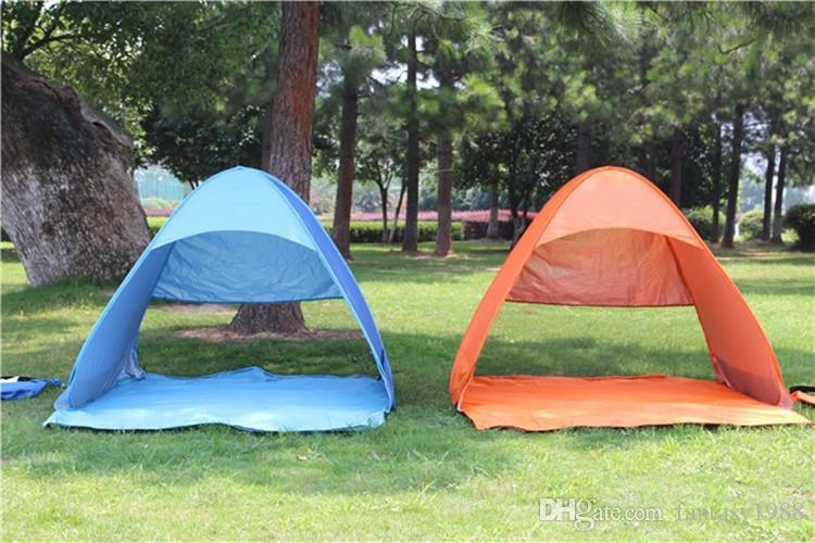 DHL/Fedex доставка быстрое автоматическое открытие легко переносить палатки открытый кемпинг укрытия 2-3 человек УФ-защита палатка пляж путешествия газон пикник