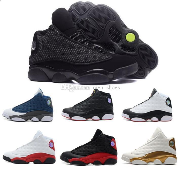 New 13 13s Black Cat 3M Reflect Men Women Basketball Shoes 13s Flint Bred  Olive Gym Red Sneakers High Quality With Shoes Box Sneakers On Sale East  Bay Shoes ... 12fb5bc1a2