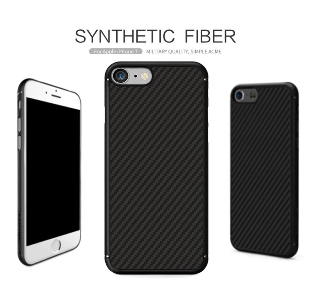 big sale 4b806 e6f74 Nillkin Carbon Fiber Back Cover Case For Iphone 6 6s Case 7 Plus Oneplus 3  5 /Huawei P10 Plus /Samsung Galaxy S8 Plus Note 8 /Lg G6