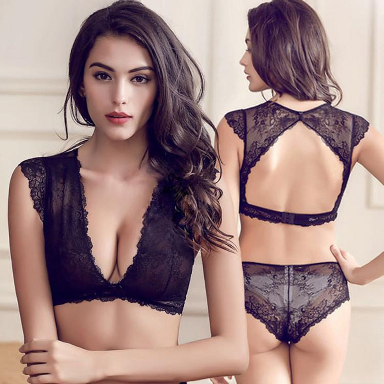 2019 victoria underwear for women sexy bra set lace thin. Black Bedroom Furniture Sets. Home Design Ideas