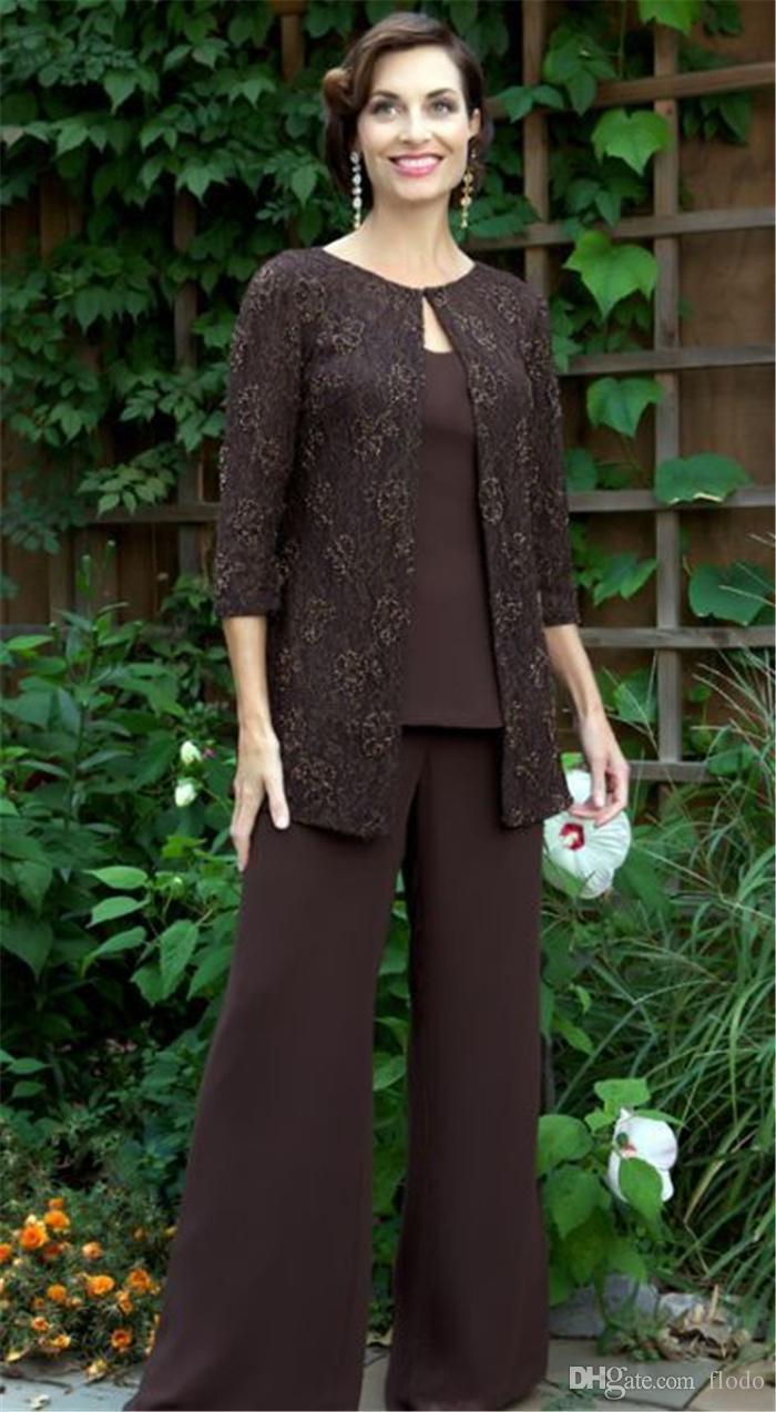 2016 Cheap Lace Plus Size Mother Of The Bride Pants Suits ...