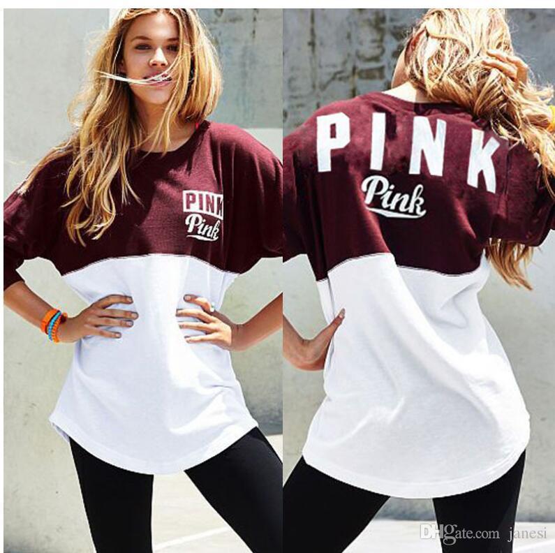 2017 2017 Spring Autumn Arrival Women Hoodies Brand New Pink Print ...