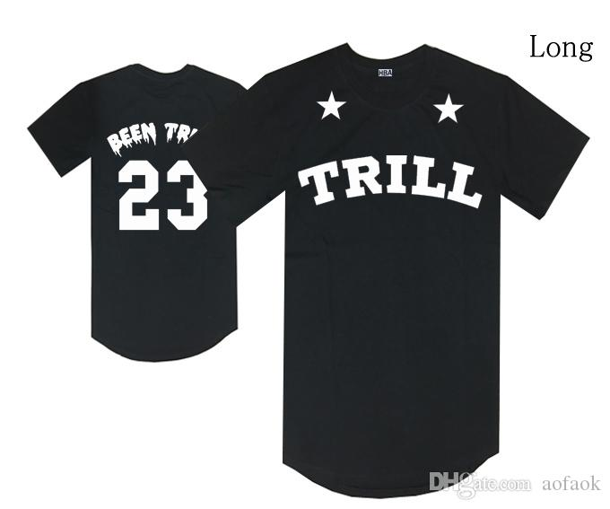 2a8565dc45b Hood By Air T Shirt Hba Been Trill 23 Number Tees Black .