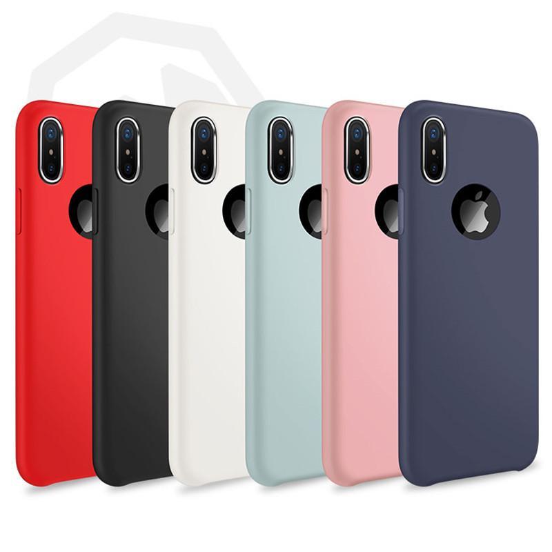 custodia iphone x silicone originale