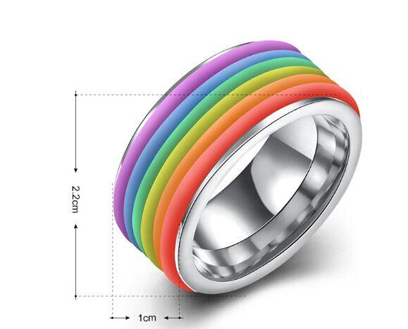 Anelli dell'arco d'acciaio di titanio all'ingrosso gli uomini e le donne di nuovo modo di stile coreano buona qualità vendita calda gioielli