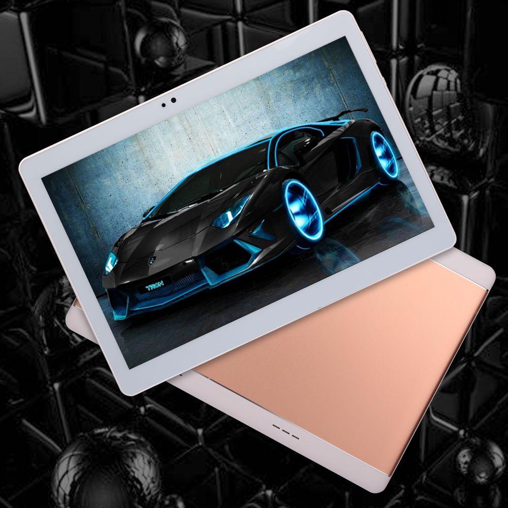 4G 10,1 pouces Boîtier métallique Tablette Android Tablette PC Octa Core RAM 4GB ROM 32GB 1920X1200 IPS Double carte SIM Appel téléphonique Tablet PC Android 7.0 GPS