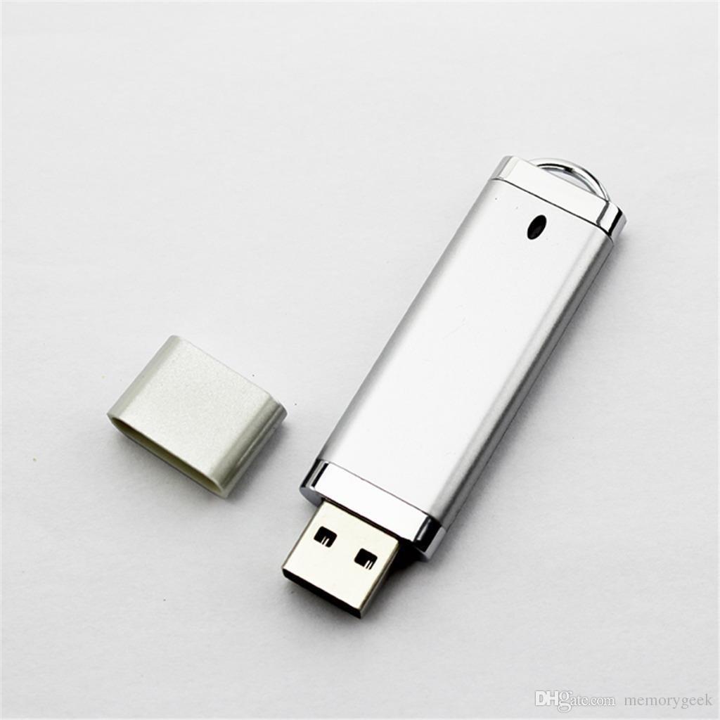 Dikdörtgen USB 2.0 Flash Sürücü XMAS Hediye 64 GB 16 GB 32 GB Kalem U Çubuk Bellek Tam Kapasite PC Için 64 GB 128 GB 256 GB