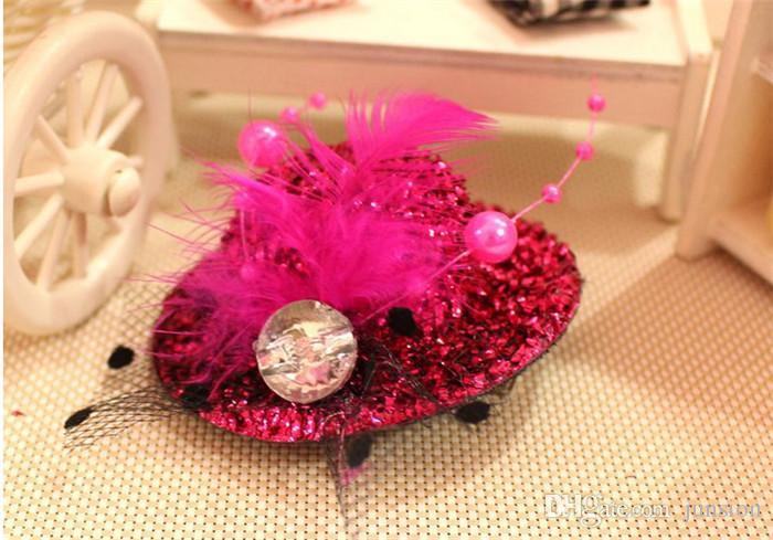 6 Cor Chapéu Enfeites de Cabelo Do Bebê Blingbling Headbands Acessórios Meninas Bonito Flor O Pequeno Bebê Headbands Bebê Cabelo 2016 Hot New Verão