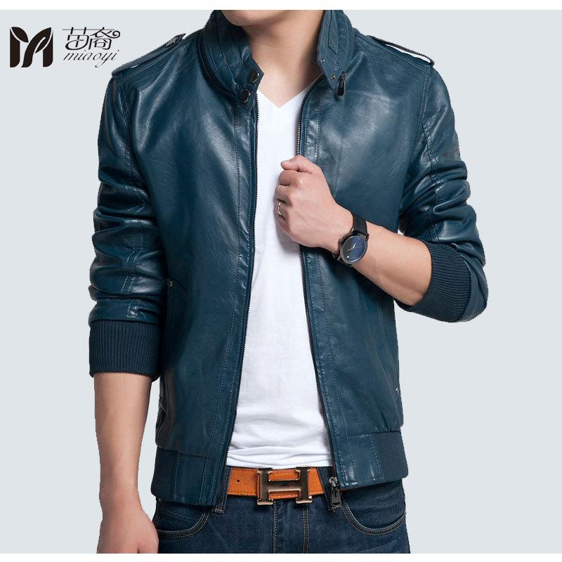 2017 New Design Men S Jacket Spring Amp Autumn Pu Leather Black Amp Lake  Blue Fashion Slim Solid Jacket For Man Hot Sell Mens Jaket Pink Coats And  Jackets. 2017 New Design Men S Jacket Spring Amp Autumn Pu Leather