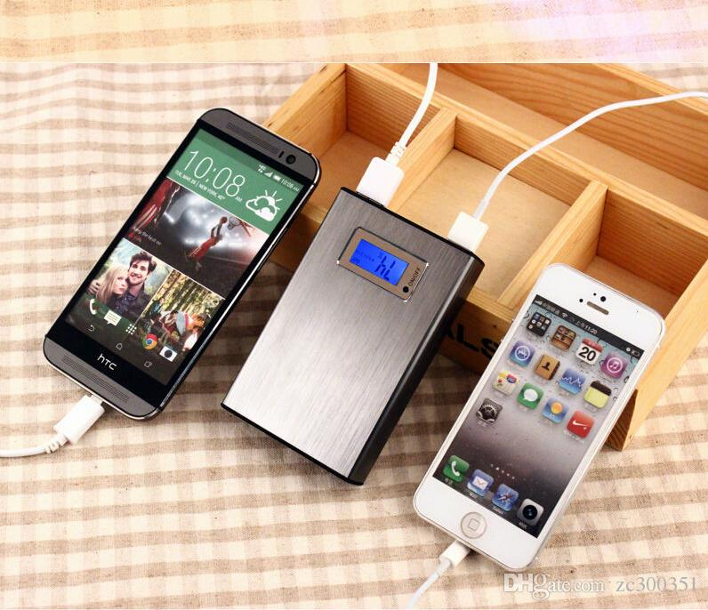 Power Bank 12000mAh External Battery Portable Universal Cell Phone PowerBank Chargers For iphone IPAD Android Smartphone