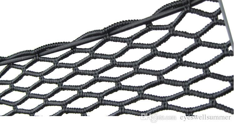 New Black Car Net Organizer Tasche Porta auto Rete auto Scatola auto Borsa adesiva auto Borsa telefono cellulare strumenti