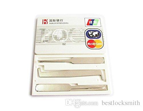 HH Jack Knife Multi Tool Block Seleziona Set Block Picking Tools Blocksmith Tools Opener serratura Fabbro Abilità Allenamento