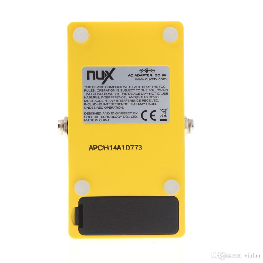 Producto Original NUX CH-3 Pedal de Efectos de Guitarra Eléctrica Chorus de Bajo Ruido BBD True Bypass Guitarra Pedal de Efectos de guitarra piezas de accesorios