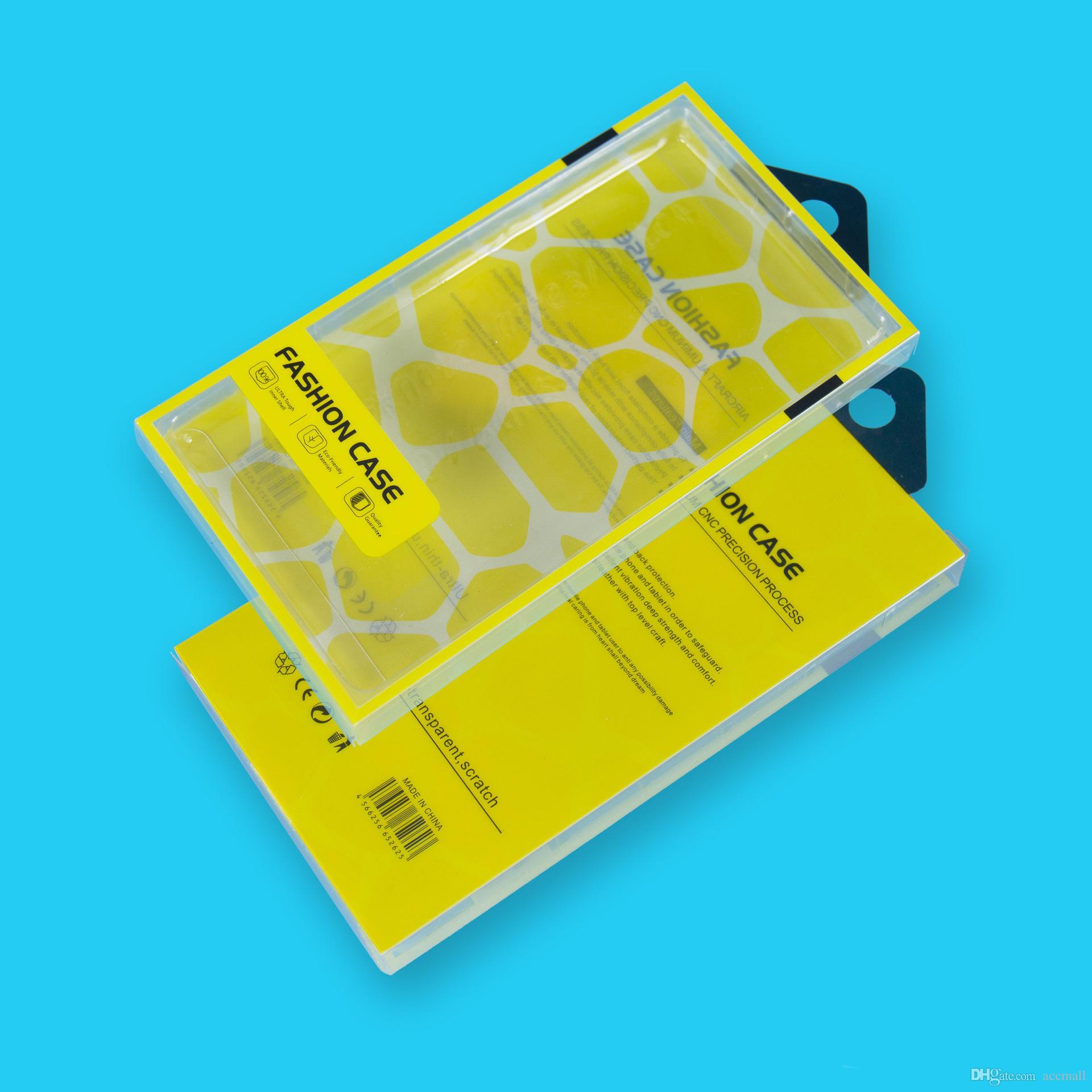 حزمة pvc مربع التجزئة فارغة صناديق تغليف بلاستيكية آيفون 8 7 6 ثانية 6 زائد 5.5 بوصة x سامسونج s5 ملاحظة 4 3 الهاتف الجلود المحفظة حالة تغطية