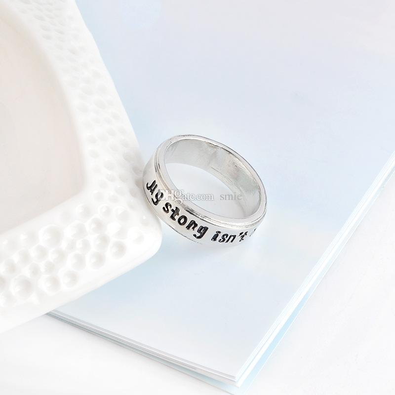أزياء الفضة مطلي مكونات مقطوعة مفصلية حلقة اليدوية