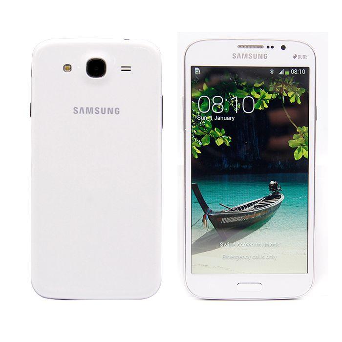 Desbloqueado Original Samsung Galaxy 5,8 Recuperado I9152 Cell Phone 5,8 polegadas mega Dual Core de 1,5 GB RAM de 8GB ROM 8MP câmera do telefone móvel