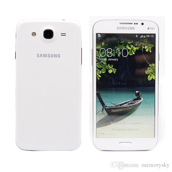 Разблокированный оригинальный Samsung Galaxy Mega 5.8 восстановленный I9152 сотовый телефон 5.8 дюймовый двухъядерный 1.5 GB RAM 8GB ROM 8MP камера мобильный телефон