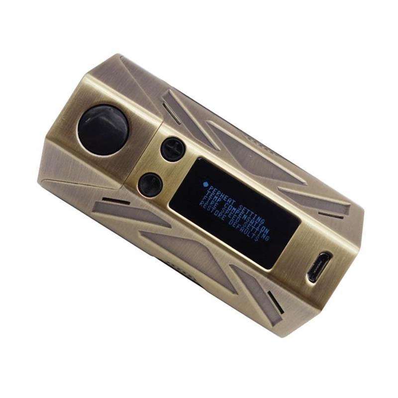 100% Original Vapor Storm Austink200 TC Mod 200W Box Mod Dual 18650 Battery Vape Ecig 510 Thread Mods 100% Authentic