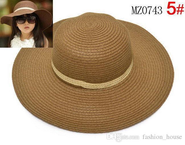 Colori cappelli da sole, cappelli e cappelli da spiaggia