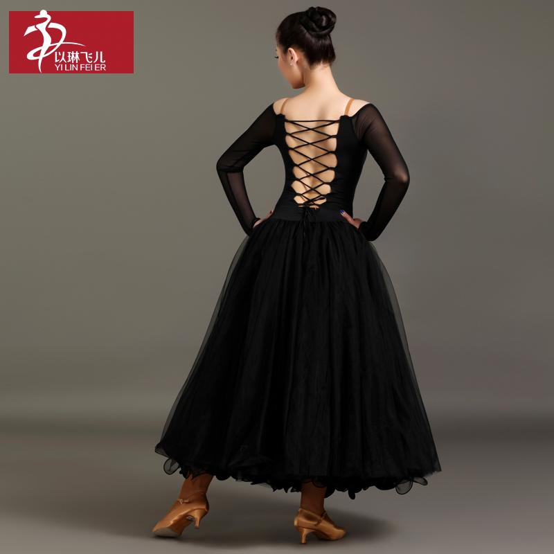 816fc3bae 2019 Women Dancing Dress Top Quality Long Sleeve Sexy Dancing Costumes  Elegant Ballet Waltz Ballroom Competition Performance Dresses From  Cocktailfashion, ...