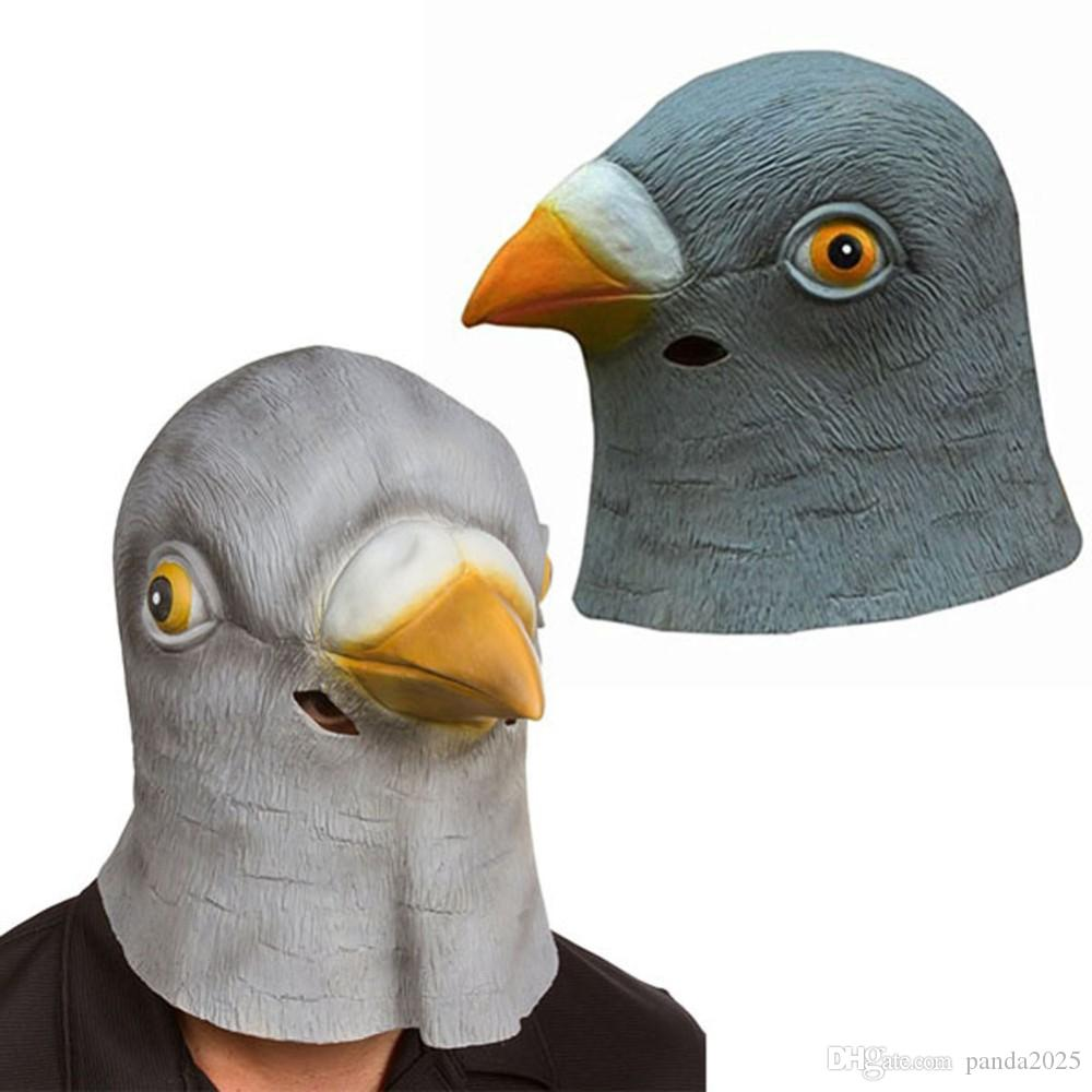 Actory Price! New Pigeon Mask Latex Giant Bird Head Halloween Cosplay Costume Theater Prop Bachelorette Party Masks Ball Mask From Panda2025, $7.45  Dhgate.