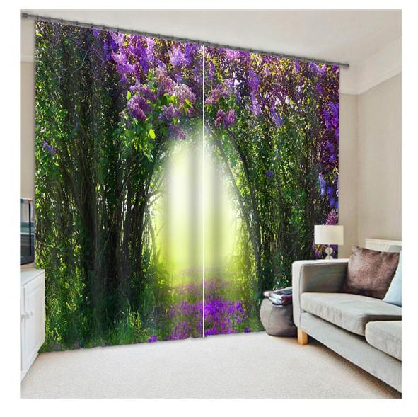 2017 Blackout Curtains 3d Curtain Set For Bedroom, Living Room ...
