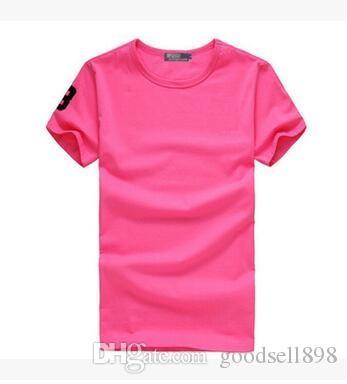 2018 nuovo cotone di alta qualità Big small Horse coccodrillo O-Collo t-shirt manica corta uomini di marca T-shirt stile casual gli uomini di sport T-shirt